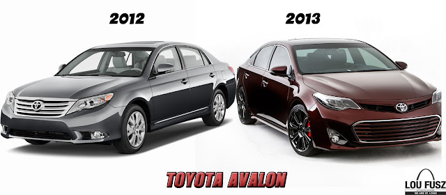 2012 vs 2013 Toyota Avalon, New Look Avalon, Lou Fusz