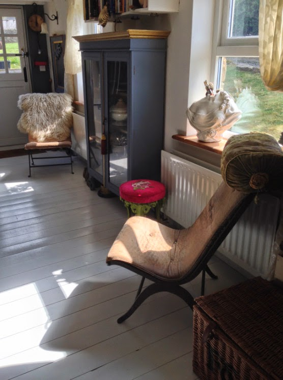 pigskin chairs