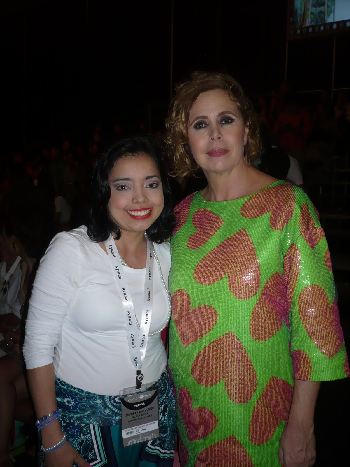 Mi encuentro con Agatha Ruiz de la Prada