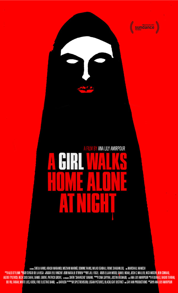 A Girl Walks Hoime Alone at Night poster