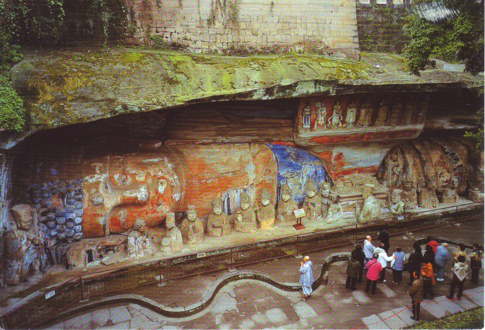 The world in postcards sabine s dazu rock carvings