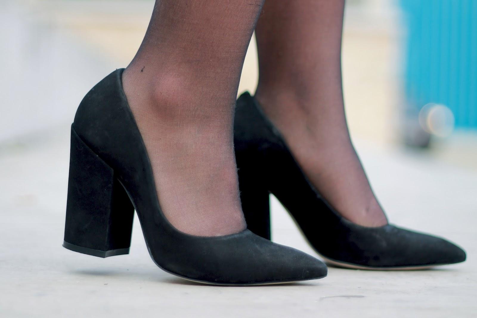 Escarpins noirs Dumond