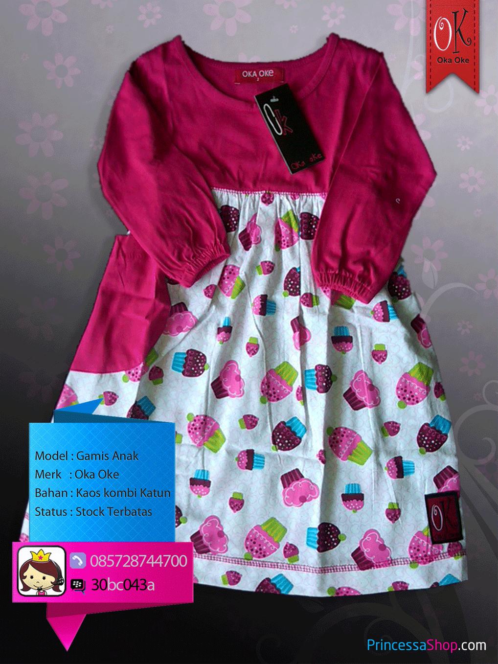 gambar grosir baju muslim anak oka oke baju gamis anak perempuan balita murah online motif hello kitty lucu,Model Baju Muslim Anak 3 Tahun