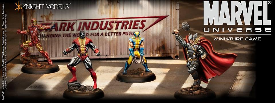 Novedad: Marvel Universe Miniature Game
