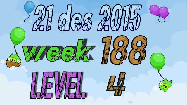 Angry Birds Friends Tournament level 4 Week 188