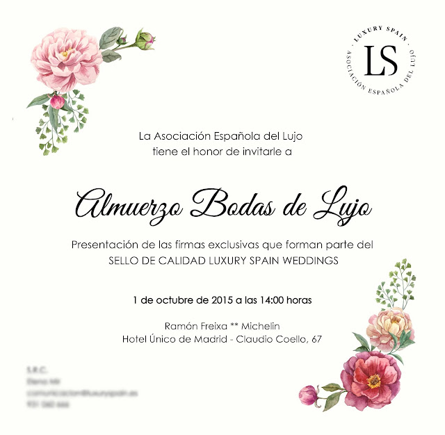 Sello de Calidad Luxury Spain Weddings - Mi Boda Rocks - Blog Mi Boda