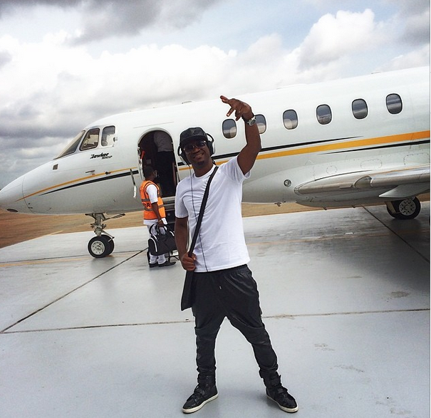 P-Square gives back to society in Niger Republic(Photos)