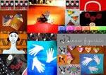 un collage dedicato al mio blog