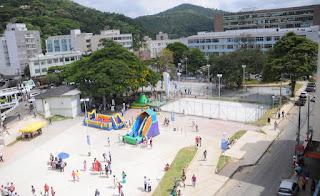 Revitalizada, Praça Olímpica Luis de Camões volta a ser usada pela população  de Teresópolis