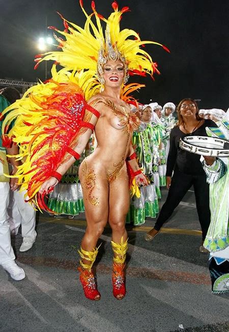 Rio nude samba dancer photos