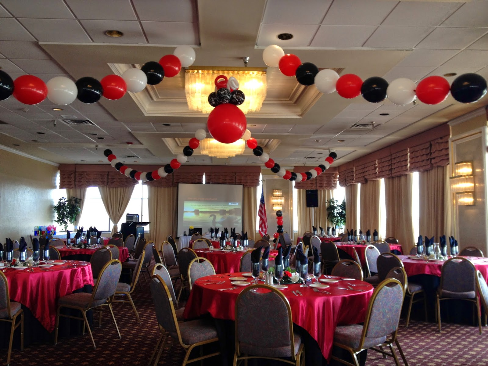 Party people event decorating company abwa downtown for Balloon decoration company