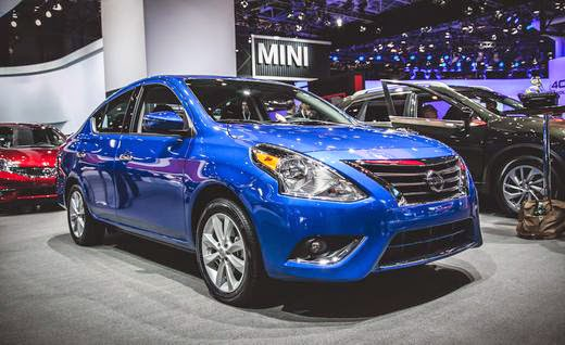 New Nissan Sunny facelift