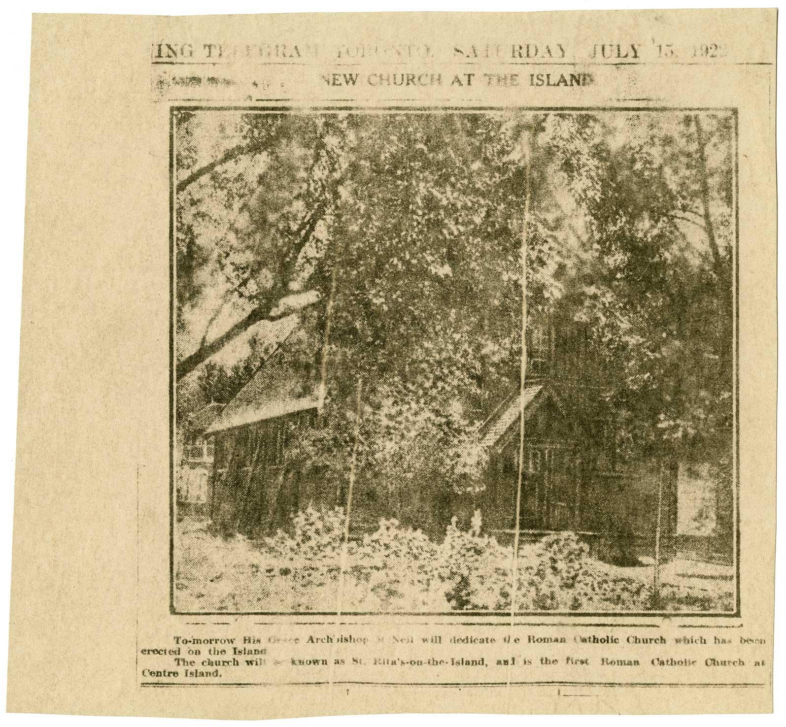The Archivist\'s Pencil: Island Living: St. Rita\'s Mission Church