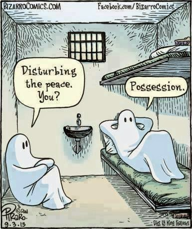 The Waiting is the Hardest Part: Halloween humor. Well, I think ...