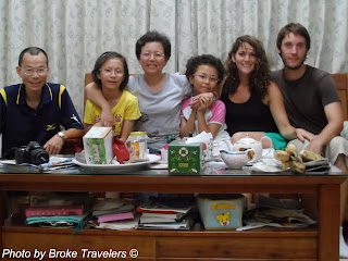 Couchsurfing in Taiwan