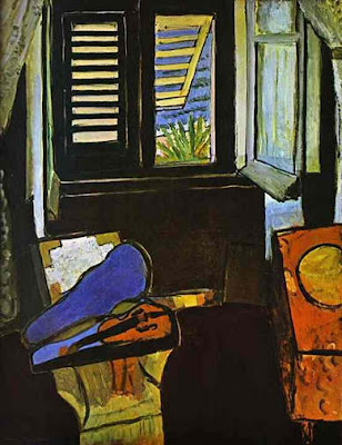 Henri Matisse - Interieur au violon,  1917-18