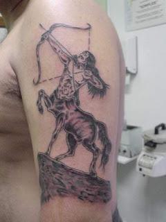Sagittarius tattoo - Zodiac Symbol Tattoo