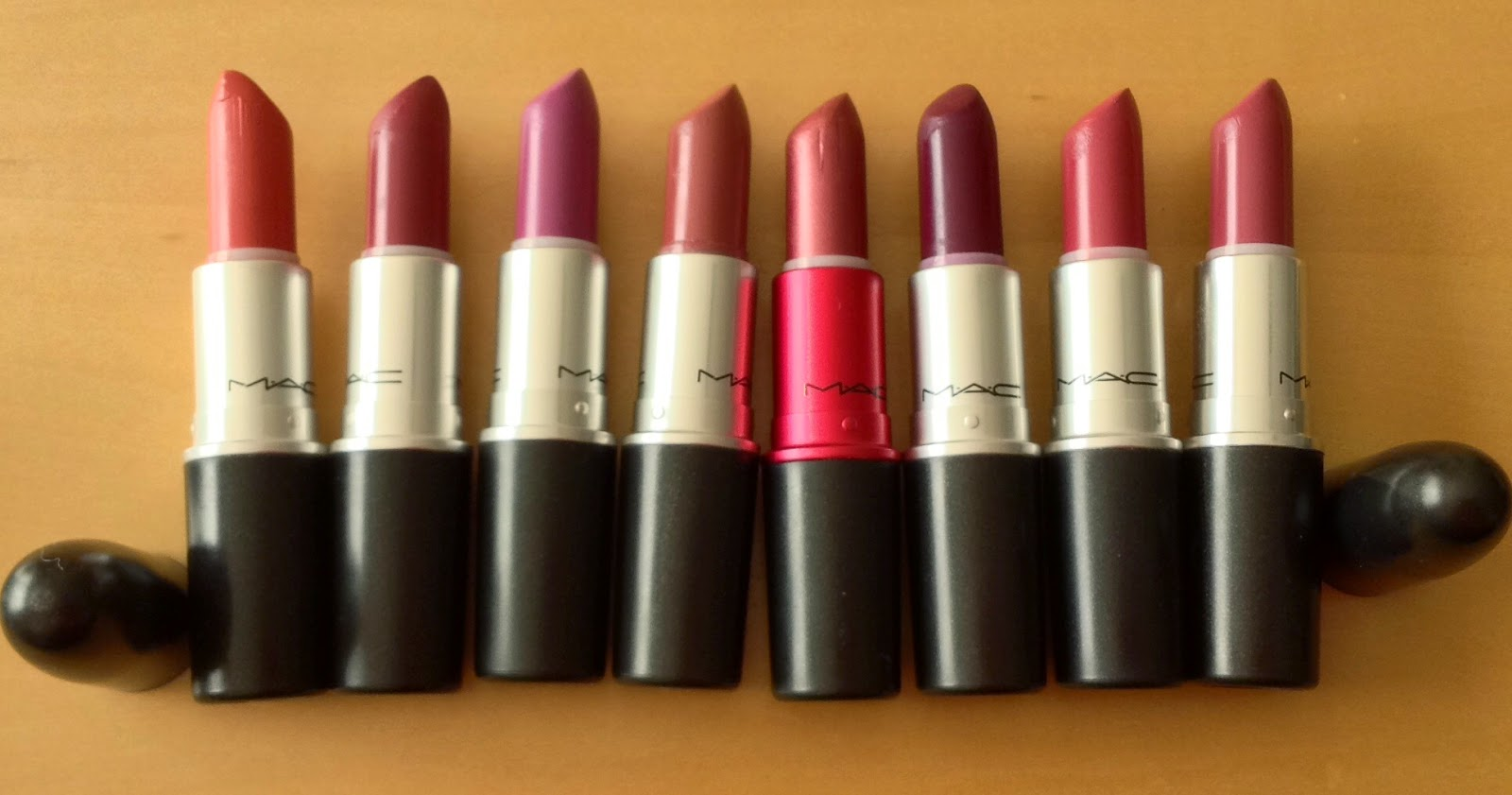 MAC Autumn Lipstick Picks