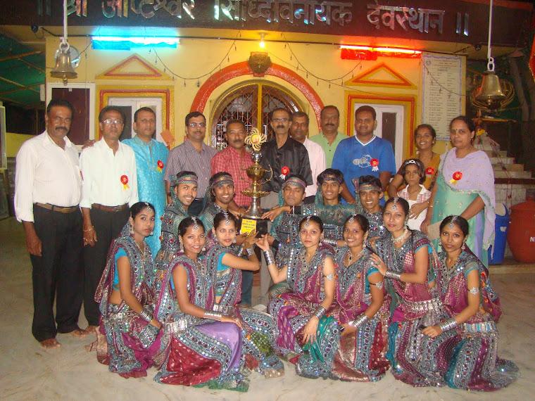Guest at the Dandiya contest