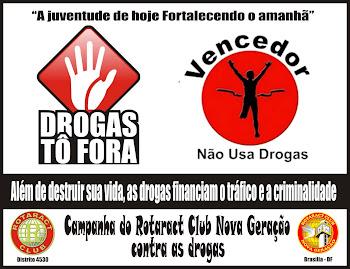 CAMPANHA CONTRA AS DROGAS