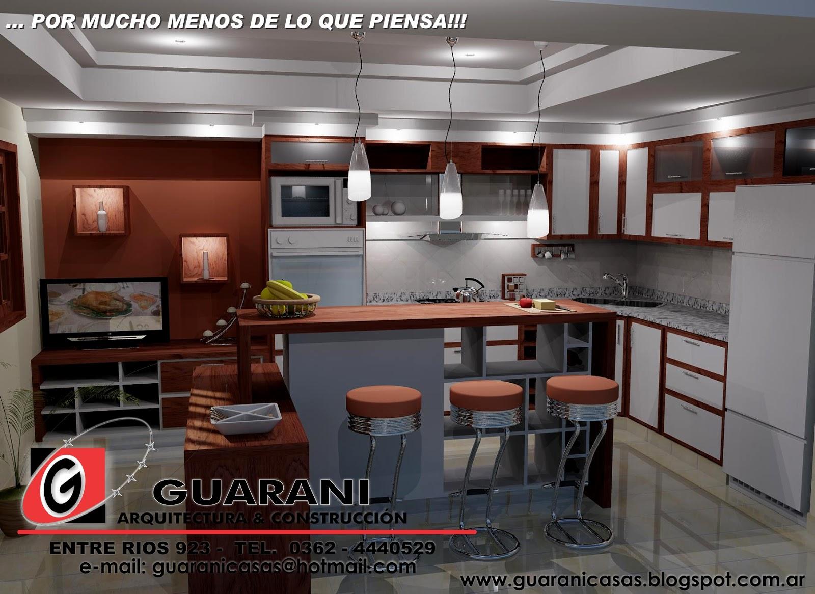 Arquitectura y construccion dise os de cocinas casa de - Diseno de cocina 3d ...
