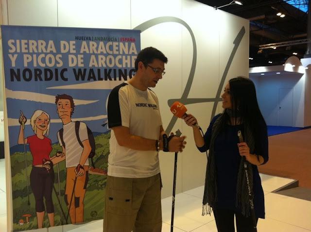 Nordic Walking Santa Ana la Real, Delegación Nordic Walking Andalucía,