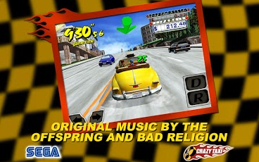 Crazy taxi_screenshot