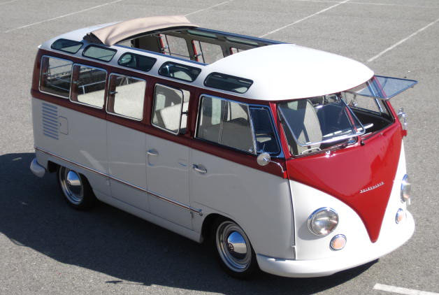 Classic cars authority foose and overhaulin transformed a for 14 window vw bus