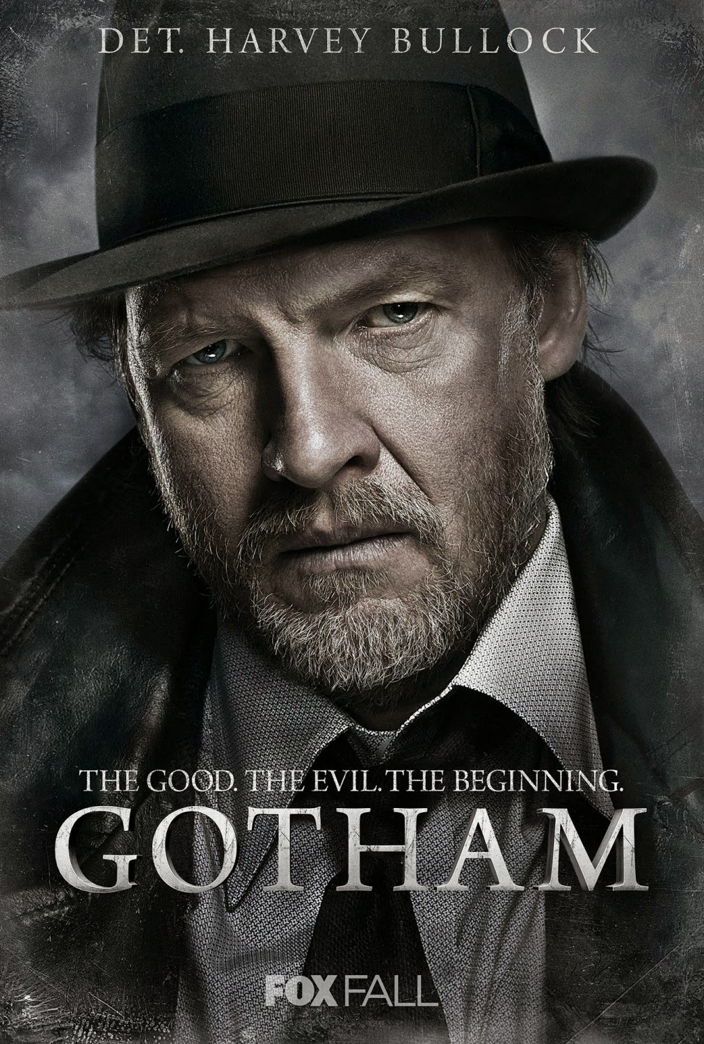 "Gotham ""The Good. The Evil. The Beginning."" Character TV Poster Set - Donal Logue as Harvey Bullock"