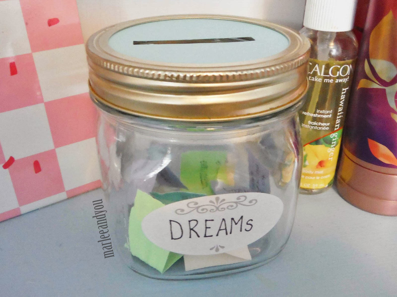 dream jar | marlee and you