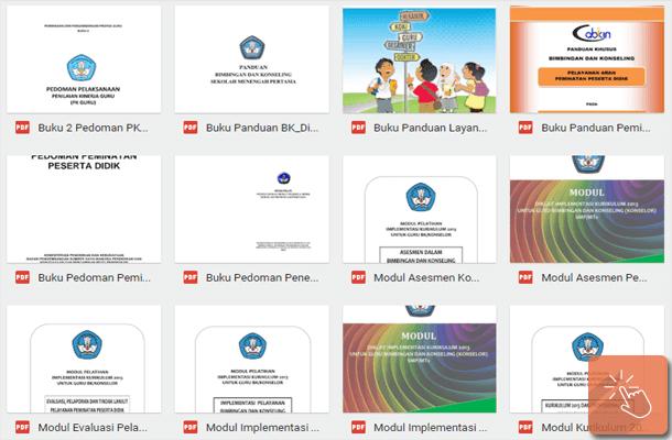 Buku dan Modul BK (Bimbingan dan Konseling) Implementasi Kurikulum 2013
