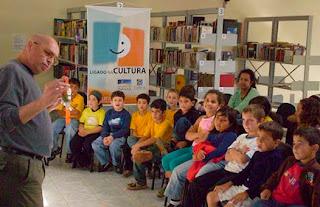 Joba Tridente - Projeto Biblioteca Cidadã -Ligado na Cultura - Japira-PR - 2011