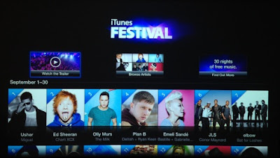 iTunes Festival in to Apple TV