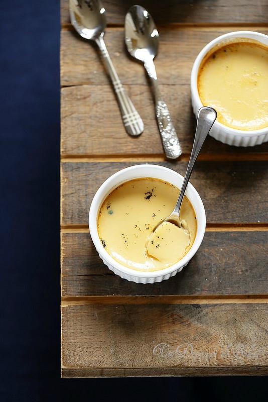 Crème aux oeufs à la pomme (sans sucre ajouté)