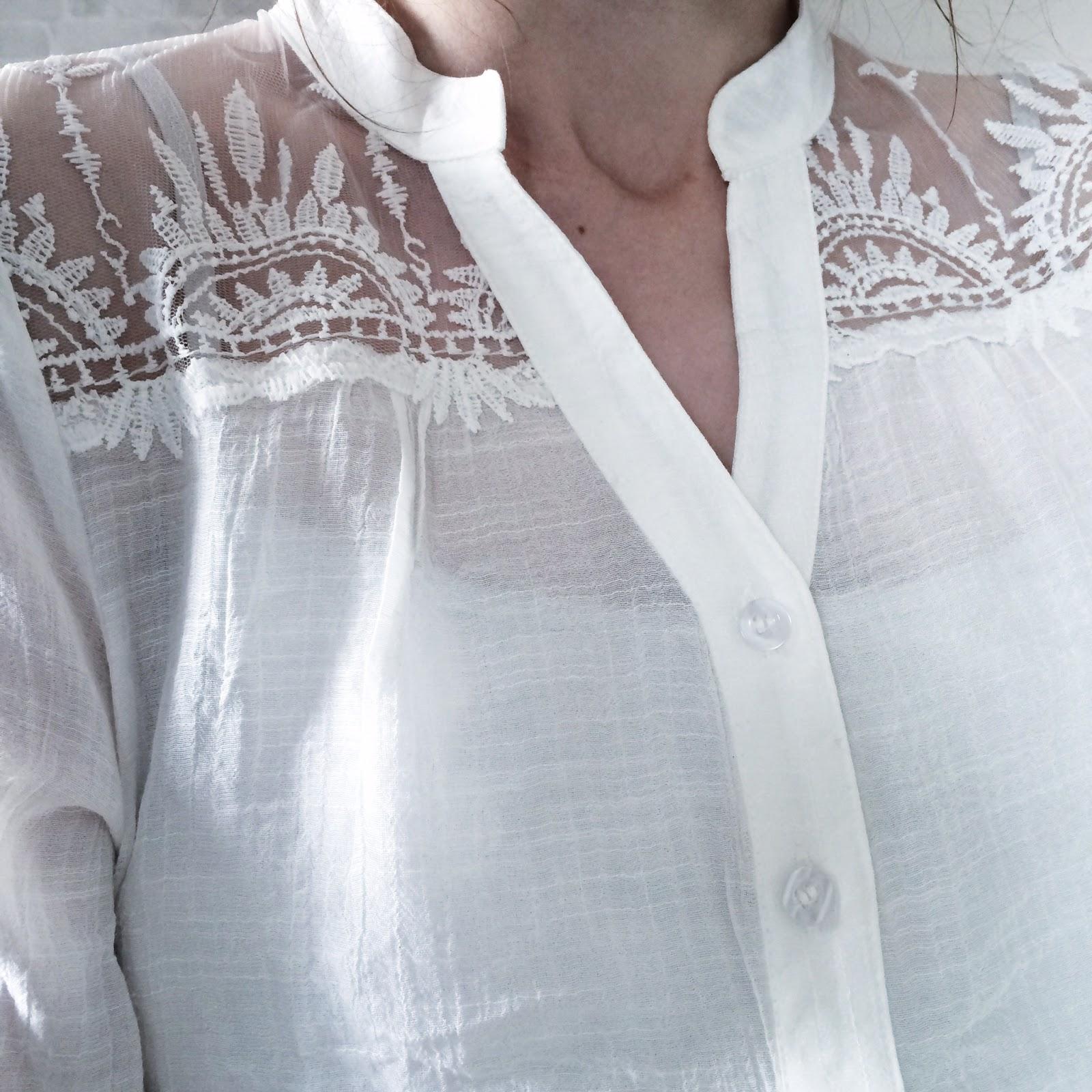 TK maxx white shirt