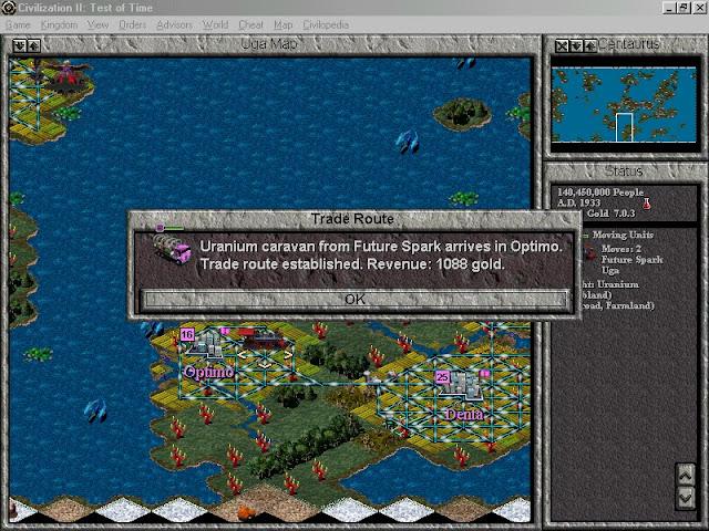 Civilization 2: Test of Time - Centaurus Surface Screenshot