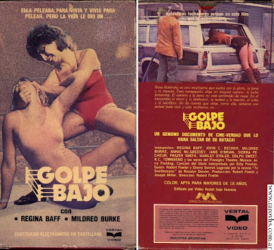 Golpe Bajo (1971) Mujeres Luchadoras