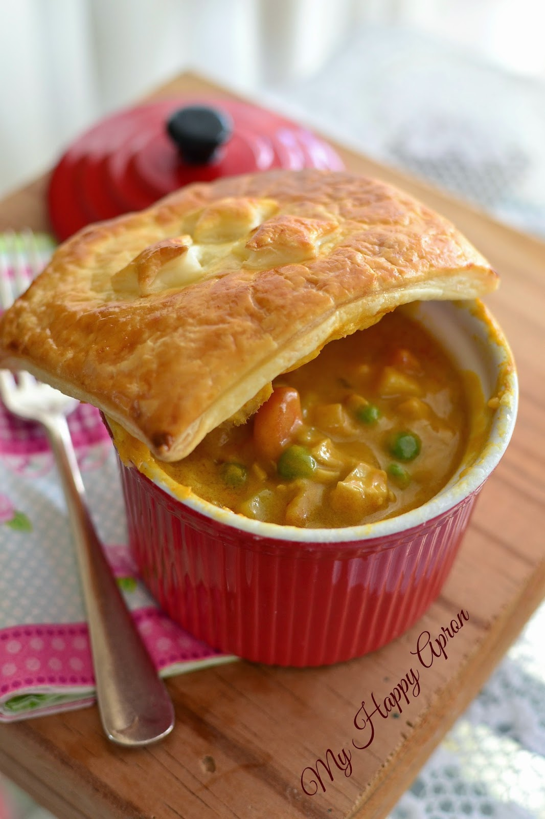 pot pie fall thai curry chicken pot pie curried chicken potpie curry ...