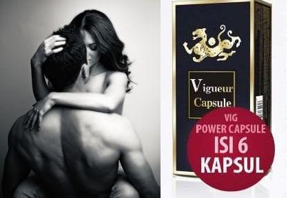 Obat Kuat VIG POWER CAPSULE | Puaskan Pasanganmu