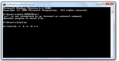 Recover Files from Virus Infected USB Pendrive OR Memory Card