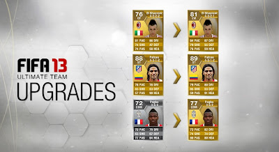 FUT 13 Upgrades (Falcao 89, El Shaarawy 81 LW & Pogba 77) - FIFA 13 Ultimate Team
