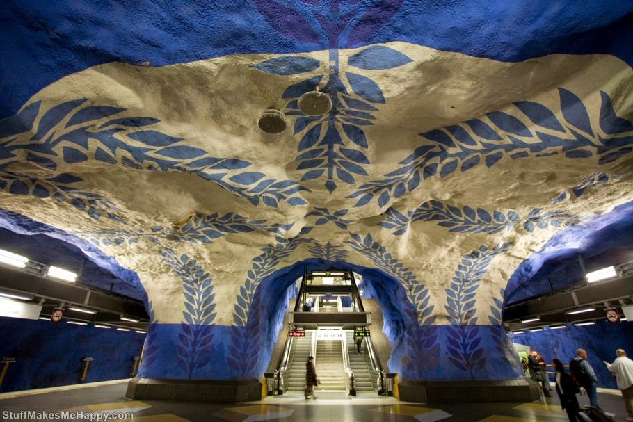 Station T-Centralen, Stockholm, Sweden (Photo by Milton Correa)
