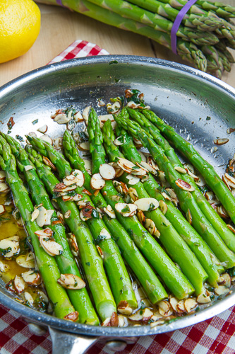 Asparagus Amandine on Closet Cooking