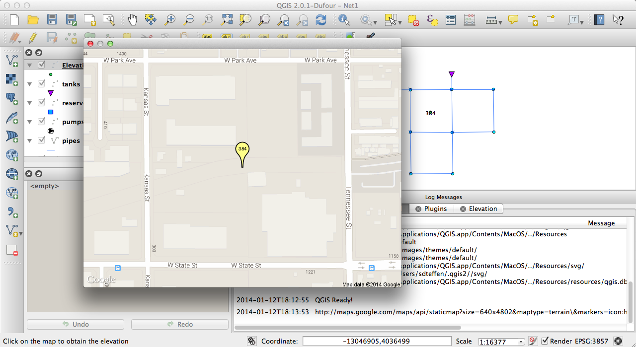 Sankey Diagrams For Epanet Models Sdteffens Blog Tomtom Link 300 Wiring Diagram A New Version Of The Qgis Elevation Plugin Is Available From 20 Repository Google Maps Are Now Displayed Directly In