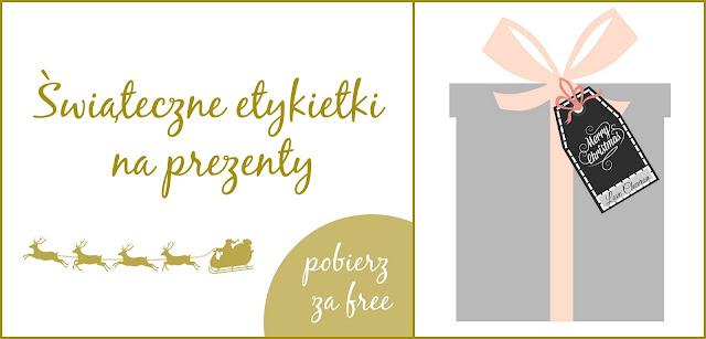 etykietki na prezenty do pobrania za free