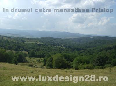 In drumul catre manastirea Prislop pe bicicleta