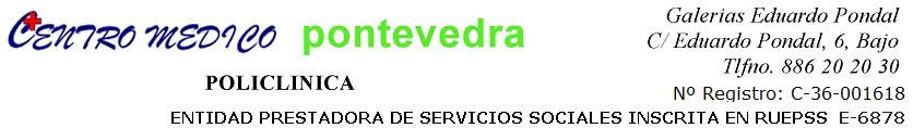 Centro Médico Pontevedra