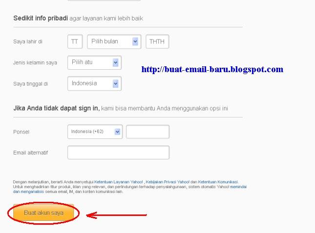 Cara Membuat Email Ymail dan RocketMail
