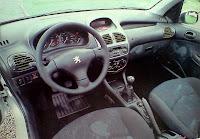 interior Peugeot 206 xs 1.6