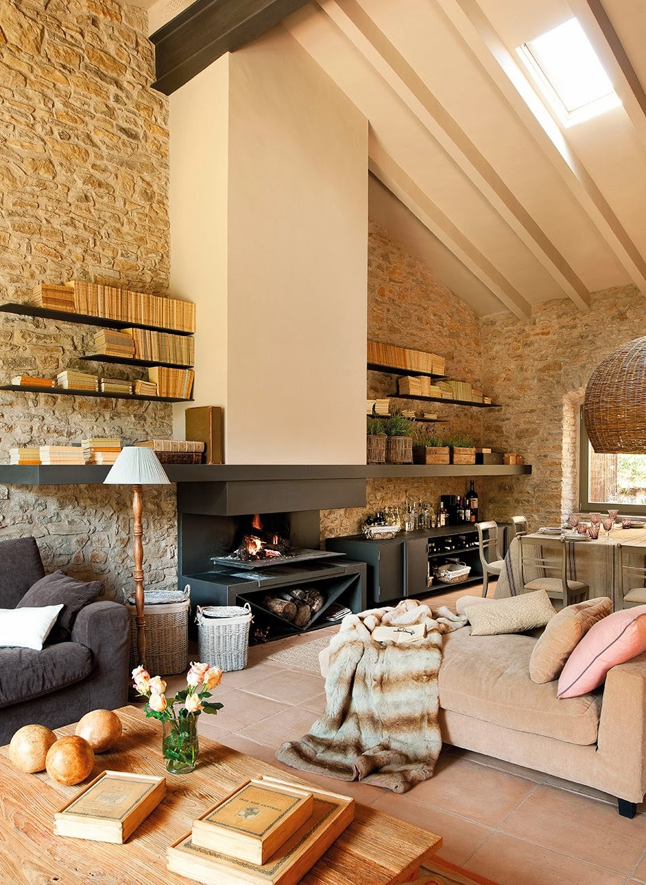 Las cositas de beach eau una casa de campo vista en el mueble - El mueble casas de campo ...
